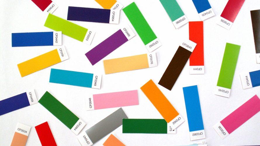 ハズキルーペのお話 ④フレームカラーの選び方