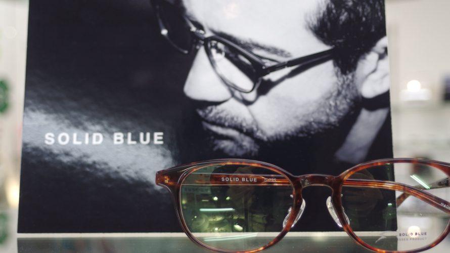 エッジの効いたブランド SOLID BLUE